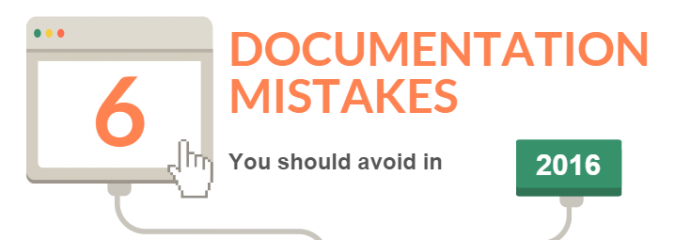 6 Process Documentation Mistakes InfoGraphic